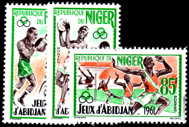 Niger 1962 Abidjan Games unmounted mint.
