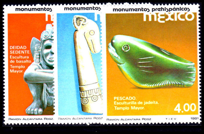 Mexico 1981 Pre-Hispanic Monuments unmounted mint.