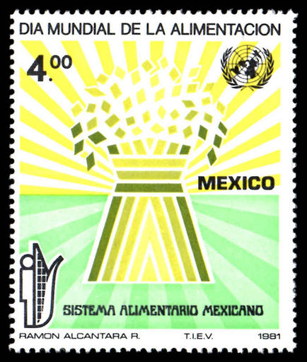 Mexico 1981 Food Day unmounted mint.