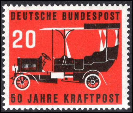 West Germany 1955 Postal Motor Transport unmounted mint.