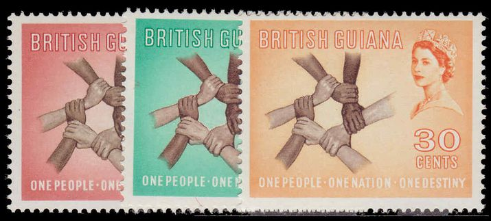 British Guiana 1961 History & Culture unmounted mint.