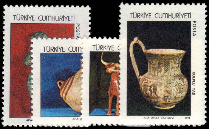Turkey 1974 Archaeological Treasures unmounted mint.