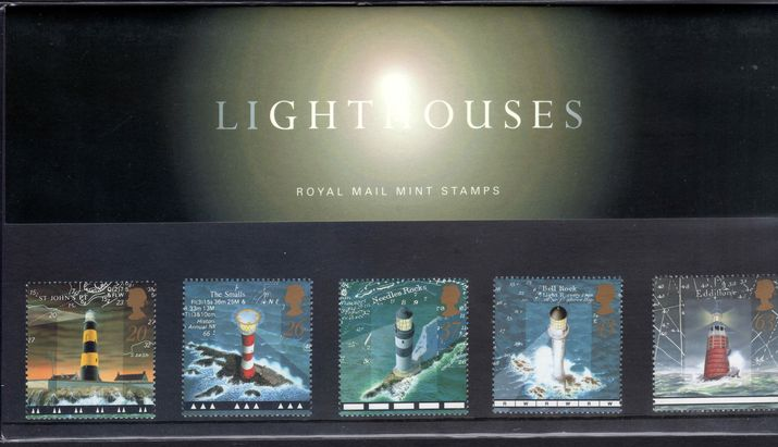 1998 Lighthouses Presentation Pack.