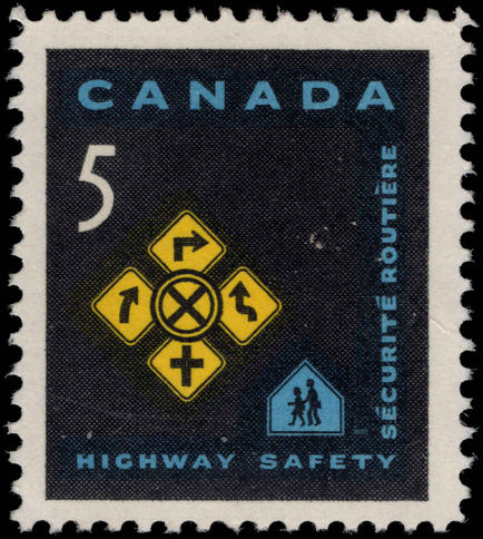 Canada 1966 Highway Safety unmounted mint.
