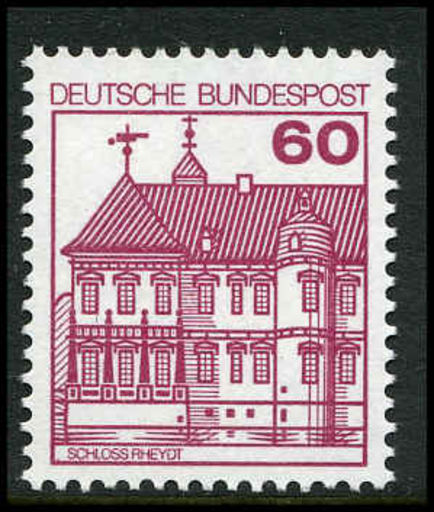 West Germany  1979 60pf Rheydt Castle unmounted mint.