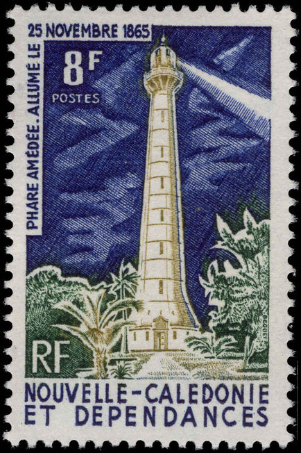 New Caledonia 1965 Amedee Lighthouse unmounted mint.