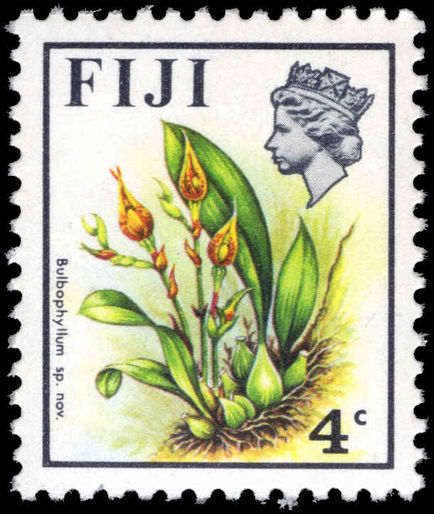 Fiji 1971-72 4c Bulbophyllum unmounted mint.
