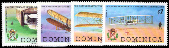 Dominica 1978 Powered Flight unmounted mint.