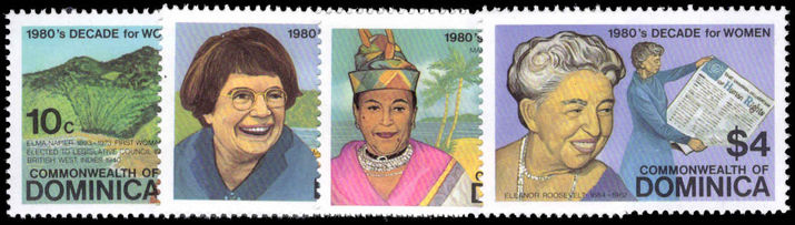 Dominica 1982 Decade for Women unmounted mint.