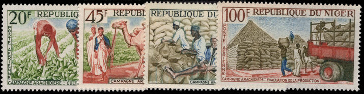 Niger 1963 Groundnuts unmounted mint.