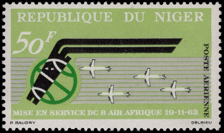 Niger 1963 Air Afrique unmounted mint.