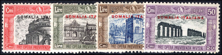 Somalia 1928 Second National Defence set unmounted mint.