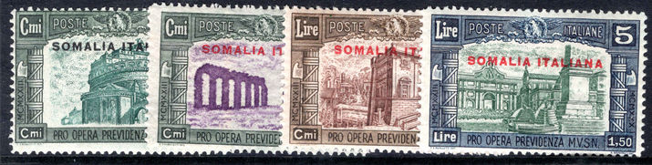 Somalia 1930 Third National Defence set lightly mounted mint.
