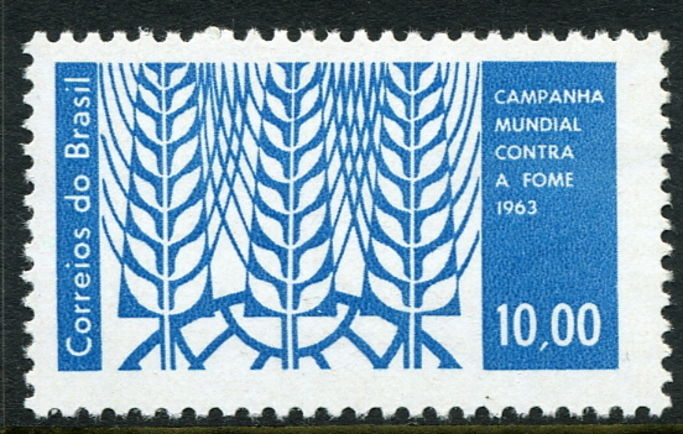 Brazil 1963 Freedom From Hunger unmounted mint.