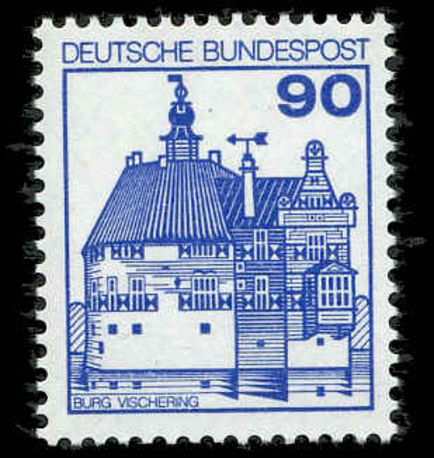 West Germany  1979 90pf Vischering Castle unmounted mint.