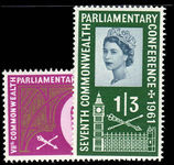 1961 7th Commonwealth Parliamentary Conference unmounted mint.