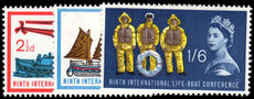 1963 9th International Lifeboat Conference unmounted mint.