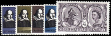 1964 Shakespeare Festival unmounted mint.