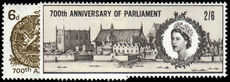1965 700th Anniv of Simon de Montfort's Parliament unmounted mint.