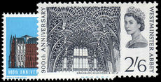 1966 900th Anniv of Westminster Abbey unmounted mint.