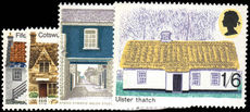 1970 British Rural Architecture unmounted mint.