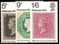 1970 Philympia 70 Stamp Exhibition unmounted mint.