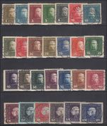 Austro-Hungarian Military Post KUK 1915-17 Set Very fine used (5h & 3h Very fine mint)