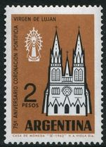 Argentina 1962 Holy Virgin Of Lujan unmounted mint.
