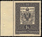 Austria 1950 Stamp Centenary unmounted mint.