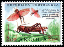 Angola 1963 Locust Insect Eradication unmounted mint.