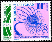 Chad 1963 Space Telecommunications unmounted mint.