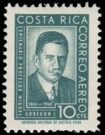 Costa Rica 1961 Obregon unmounted mint.