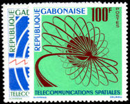 Gabon 1963 Space Telecommunications unmounted mint.