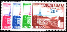Guatemala 1960 UNESCO Paris Eiffel Tower unmounted mint.