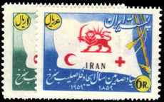 Iran 1959 Red Cross unmounted mint.