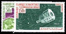 Mauritania 1963 Space Telecommunications unmounted mint.