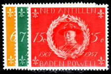 Netherlands Antilles 1957 Boy Scouts unmounted mint.