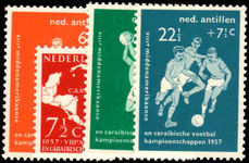 Netherlands Antilles 1957 Football unmounted mint.