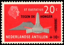 Netherlands Antilles  1963 Freedom From Hunger unmounted mint.
