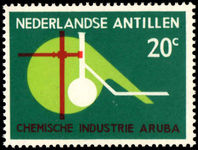 Netherlands Antilles 1963 Chemical Industry unmounted mint.