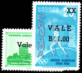 Panama 1962 Provisionals unmounted mint.