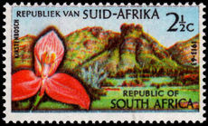 South Africa 1962 Botanic Gardens Orchid unmounted mint.