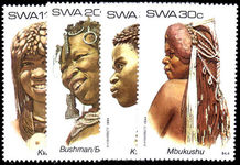 South West Africa 1984 Traditional Headdresses unmounted mint.