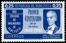 Venezuela 1961 Engineering College unmounted mint.