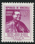 Venezuela 1962 Archbishop Blanco unmounted mint.