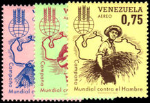 Venezuela 1963 Freedom From Hunger unmounted mint.