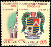 Venezuela 1963 Bocono Cathedral unmounted mint.