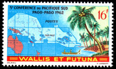 Wallis and Futuna 1962 Pago Pago Conference unmounted mint.