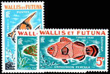 Wallis and Futuna 1963 Postage Due Fish unmounted mint.