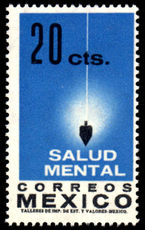 Mexico 1962 Mental Health unmounted mint.